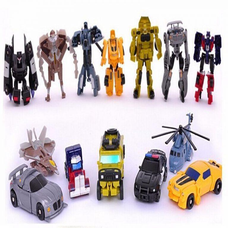 Трансформеры Игрушки Мини Роботы Вертолёт Фигурки Игрушки Оптимус Прайм Brinquedos детей игрушки подарок